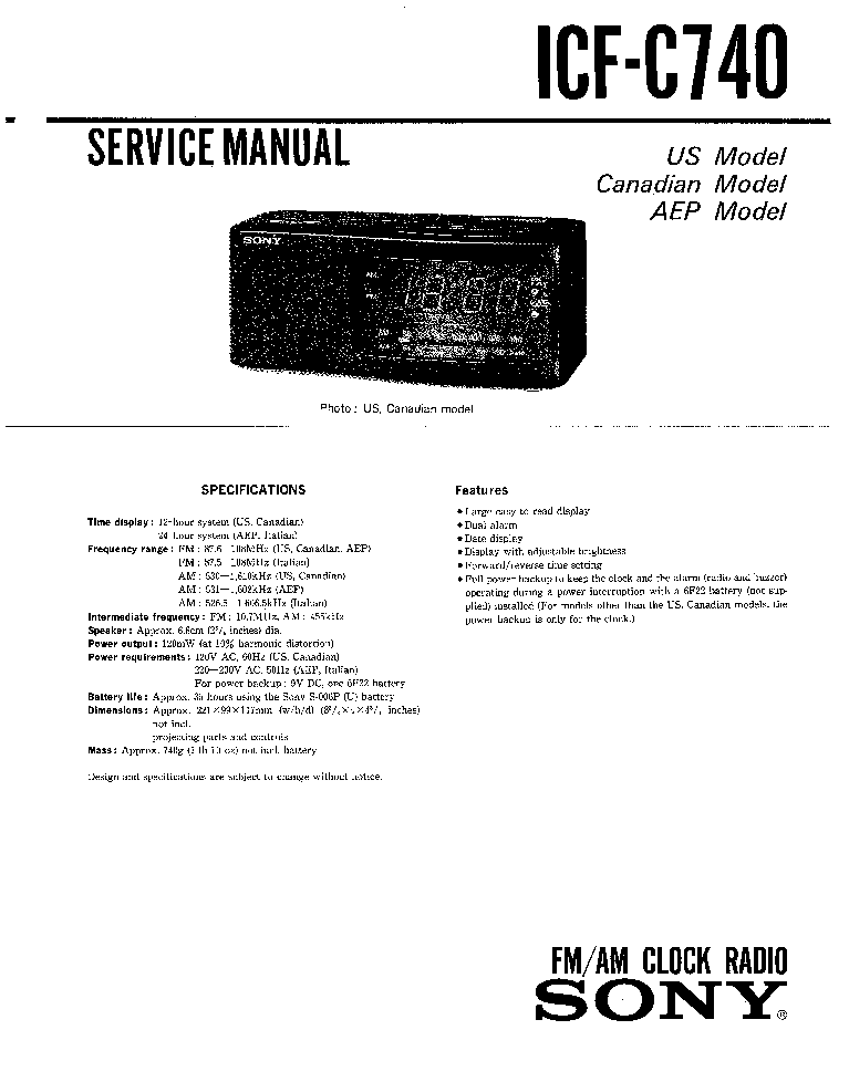 SONY TA-E2000ESD Service Manual free download, schematics