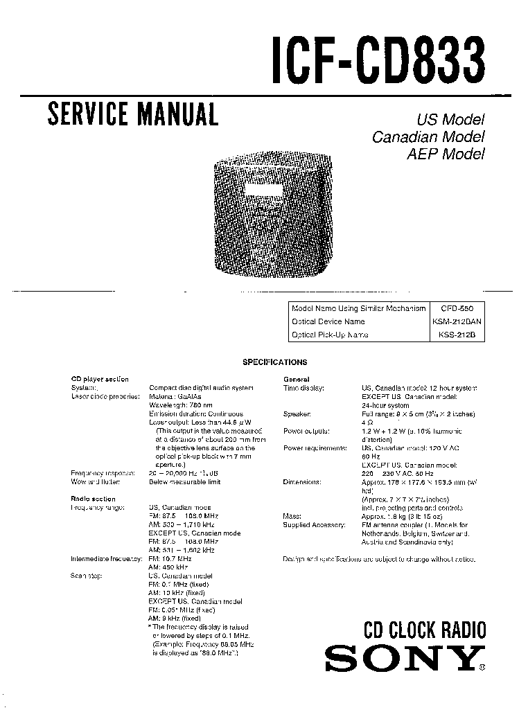 SONY LBT-N355 Service Manual download, schematics, eeprom