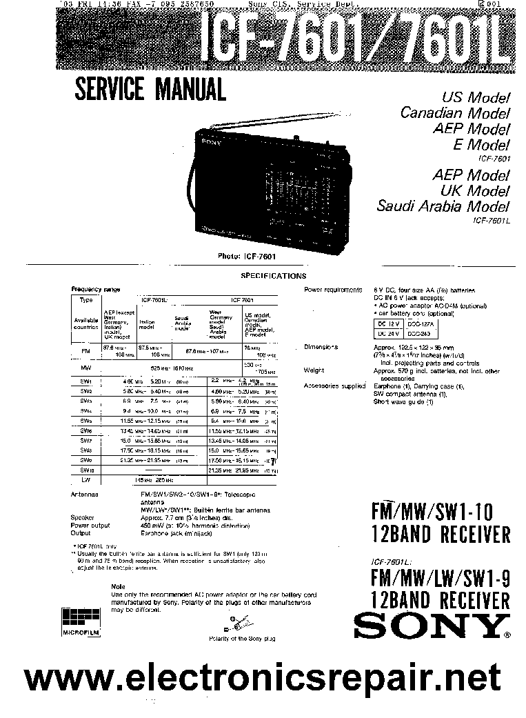 SONY ST-V902 LBT-V902 CD Service Manual download