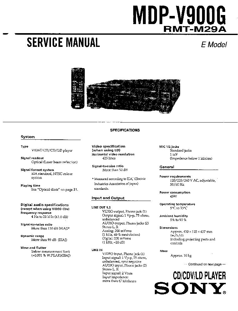 SONY TC-755A SM Service Manual download, schematics