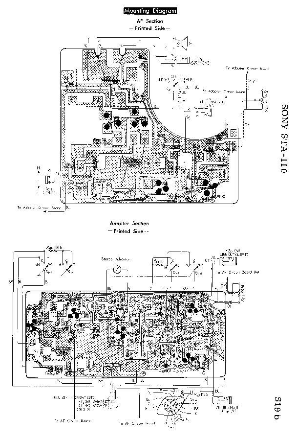 SONY PS-LX150H Service Manual free download, schematics