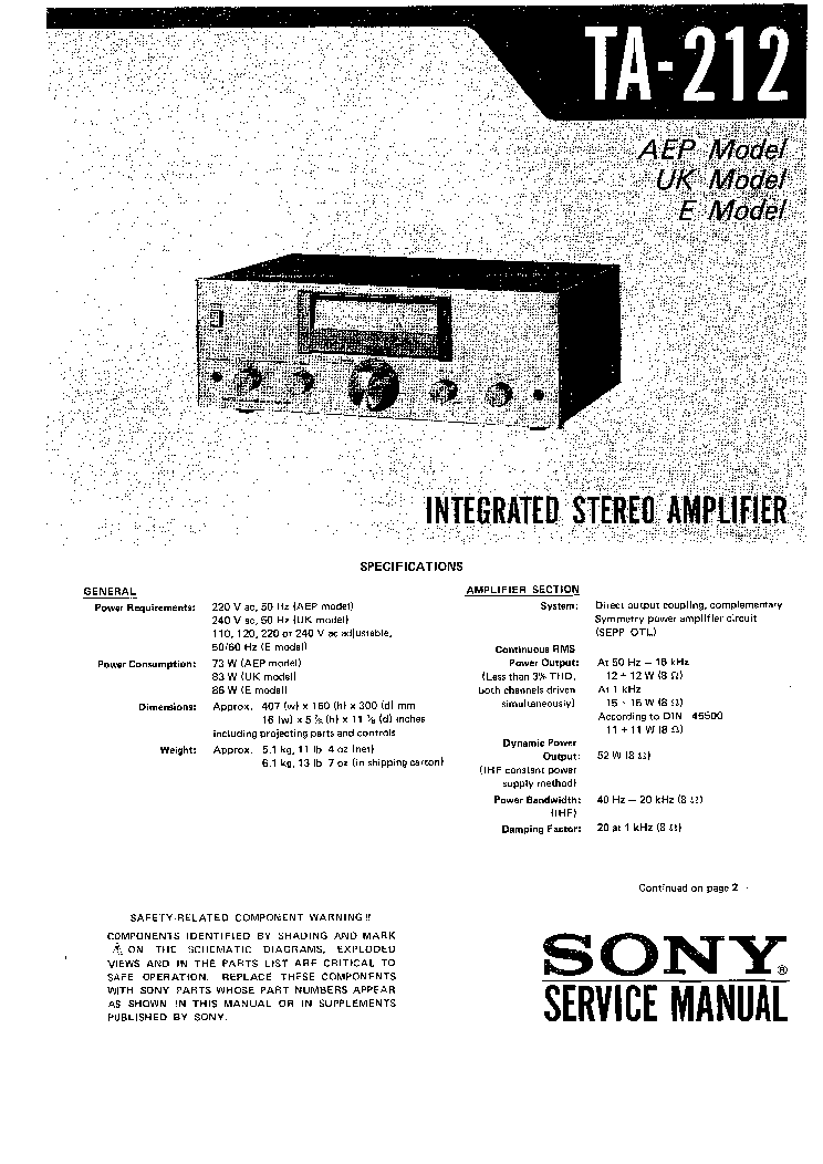 SONY MDS-S38 Service Manual free download, schematics