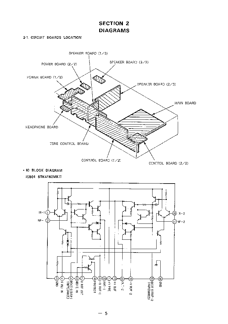 SONY TA-F101R Service Manual download, schematics, eeprom