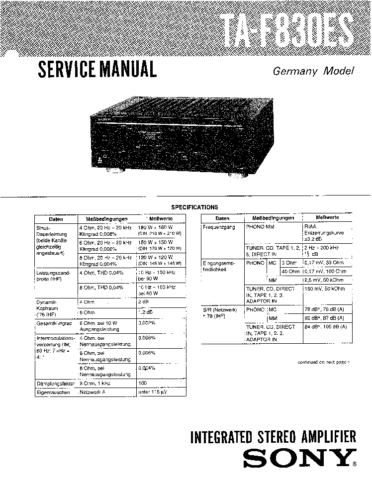 SONY PS-LX310 LX310C LX311 Service Manual free download