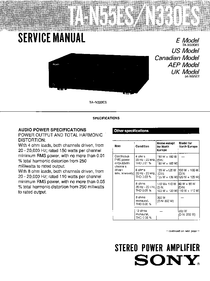 SONY MHC-EC68USB VER-1.0 Service Manual free download