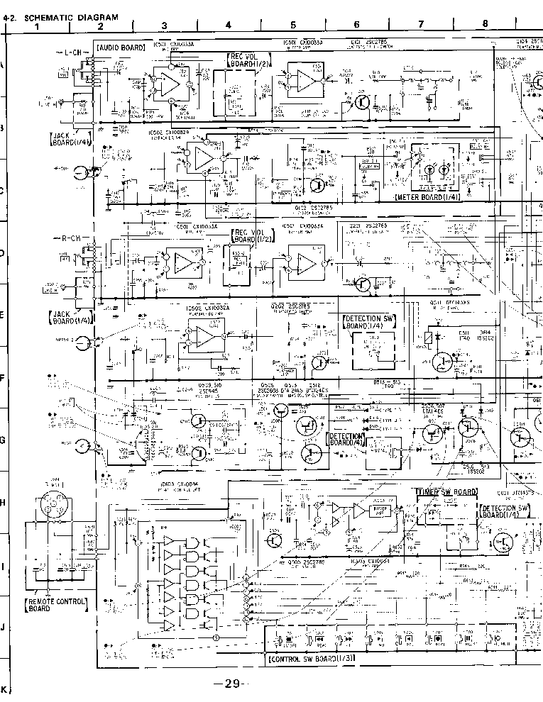 SONY ICF-SW55 Service Manual free download, schematics
