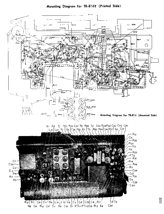 SONY TR-816 TR-816Y SCH Service Manual download