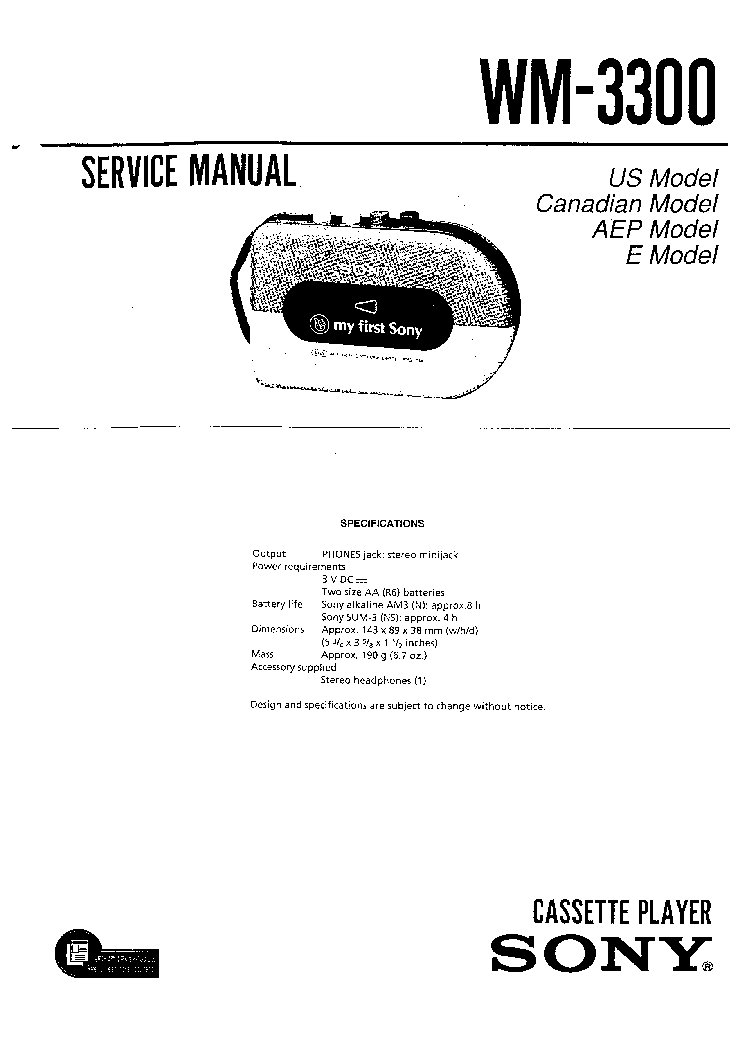 SONY TR86 TRANSISTOR RADIO SCH Service Manual download