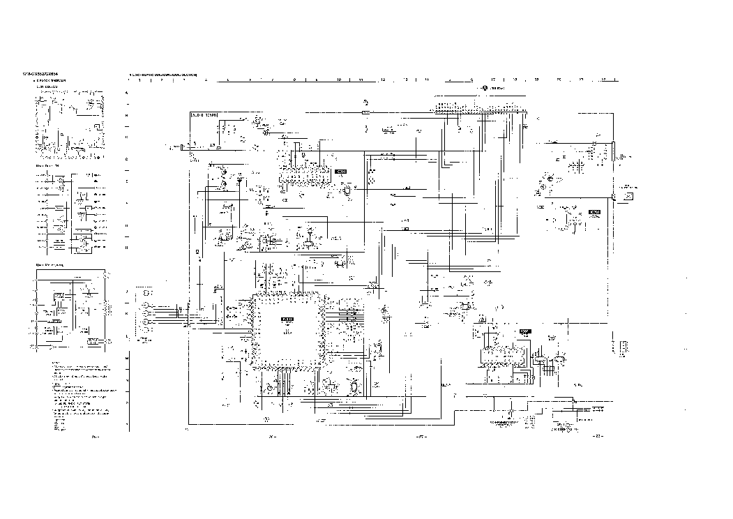 SONY WM-GX654 SCH Service Manual download, schematics