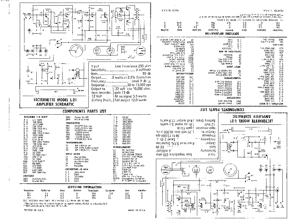 SOUNDCRAFT SPIRIT FX8 F1-8 Service Manual download