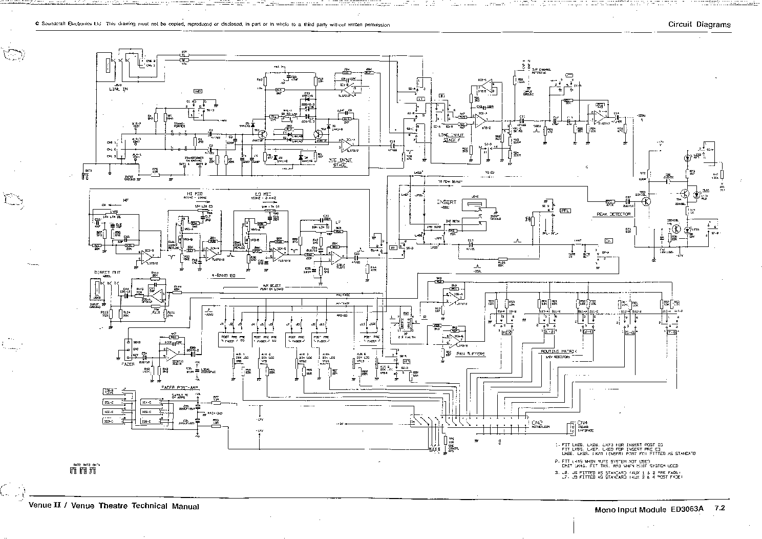 Soundcraft L1 Sch Service Manual Free Download Schematics