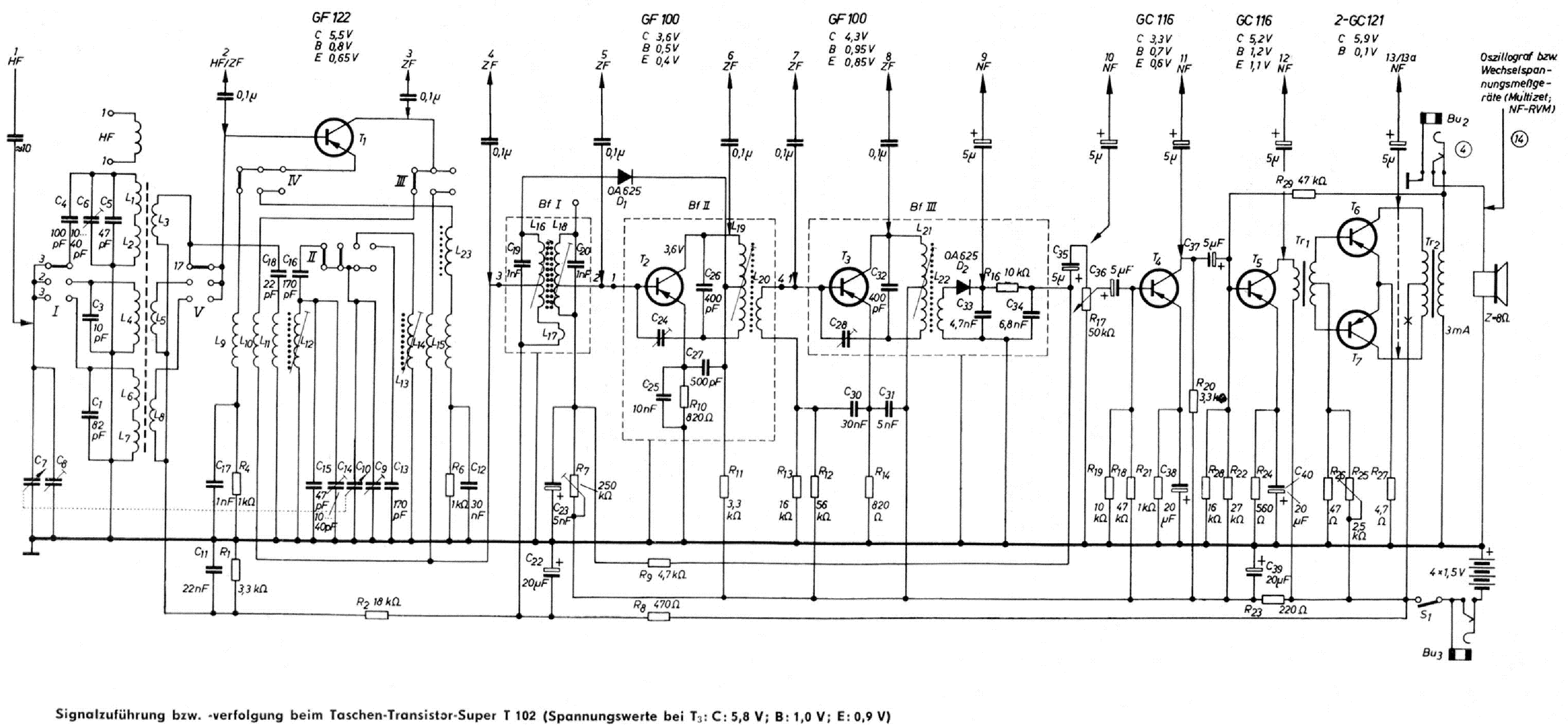 Stern Radio Rochlitz 65w 2 Rs241 Radio Sch Service Manual Download Schematics Eeprom