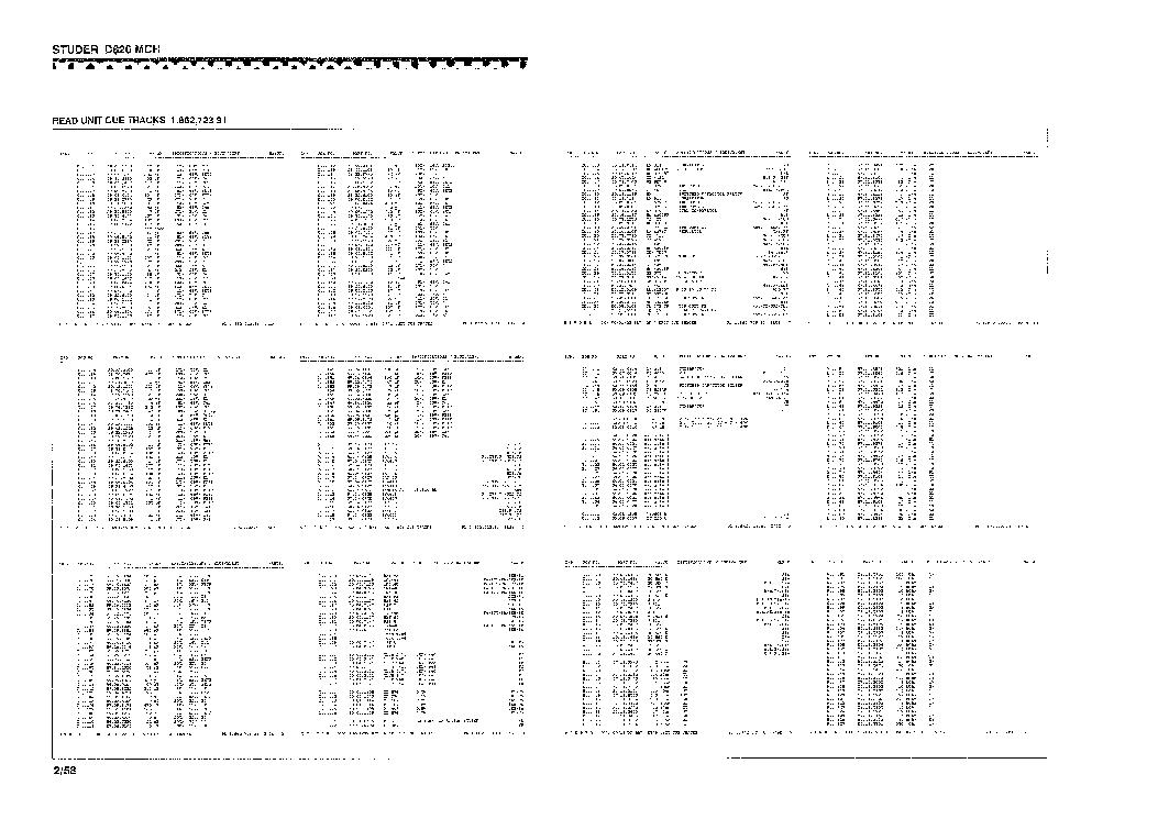 STUDER D820 MCH SCH PART3 Service Manual download
