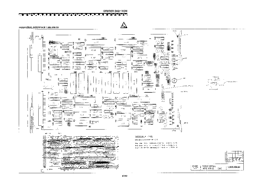 STUDER REVOX B760 SM Service Manual download, schematics