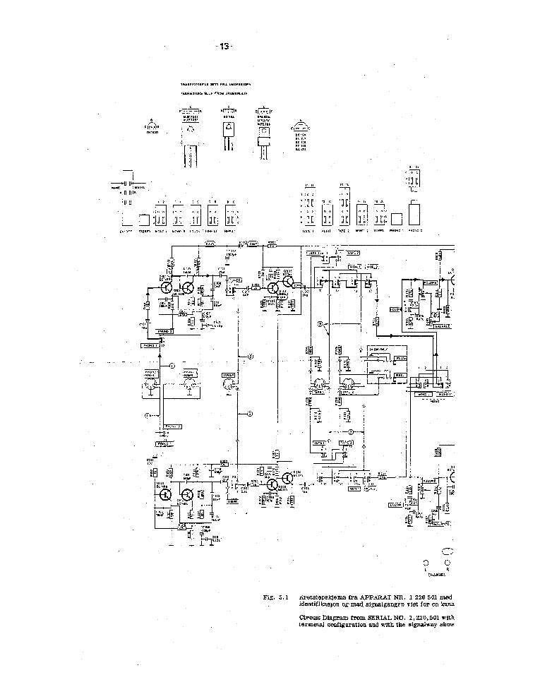 TANDBERG TA300M SCH Service Manual download, schematics