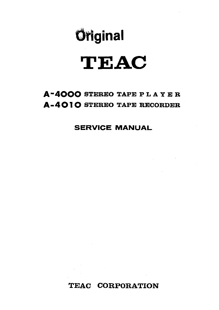 TEAC CR-H220 Service Manual free download, schematics