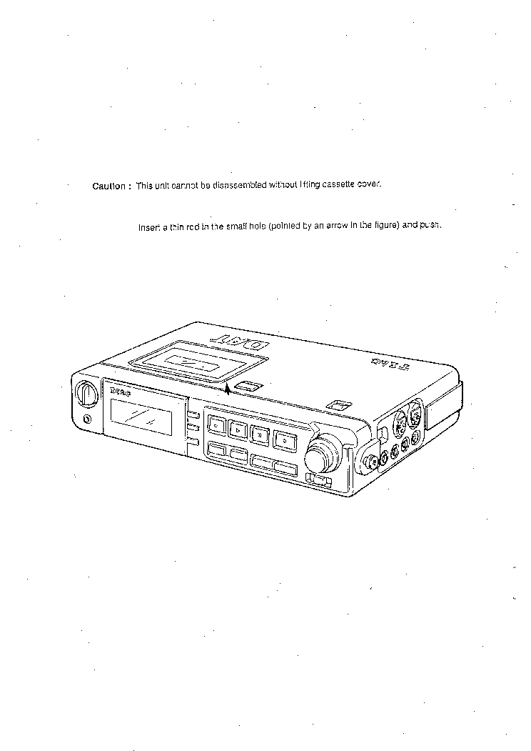 TEAC DA-P20 SM Service Manual download, schematics, eeprom