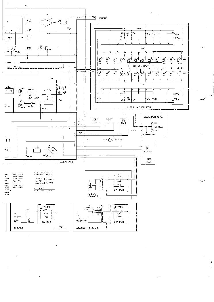 TEAC V-33 SCH Service Manual download, schematics, eeprom