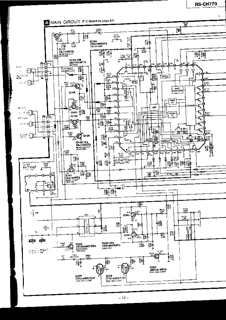 TECHNICS SL-Z1000 Service Manual free download, schematics