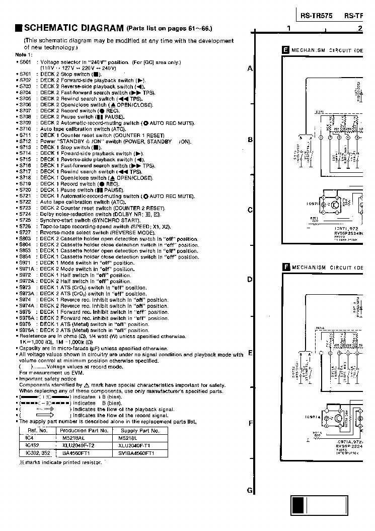 TECHNICS SE-A3MK2 SM Service Manual free download