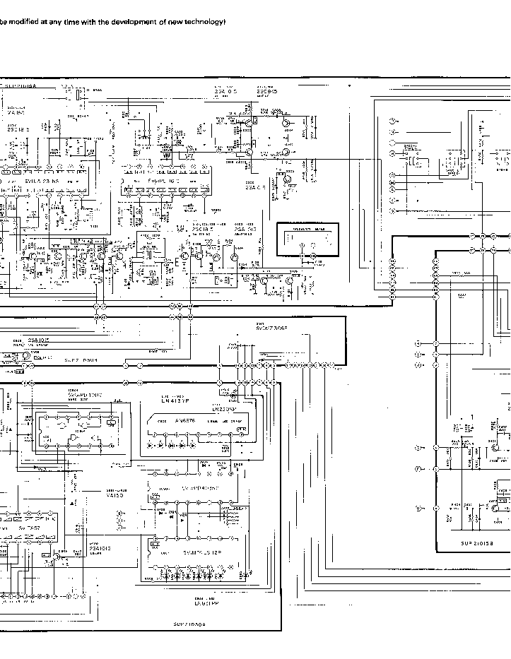 TECHNICS SA-424 SCH Service Manual download, schematics