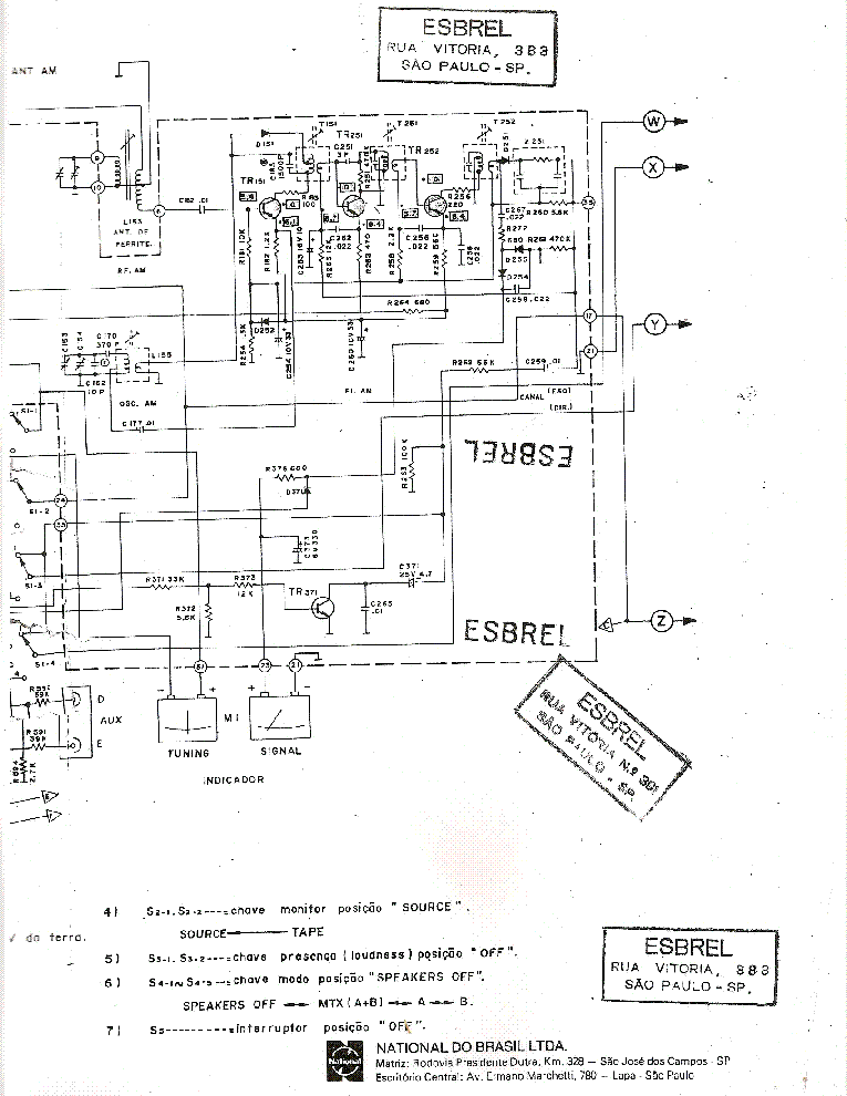 TECHNICS SU-8044-A Service Manual download, schematics