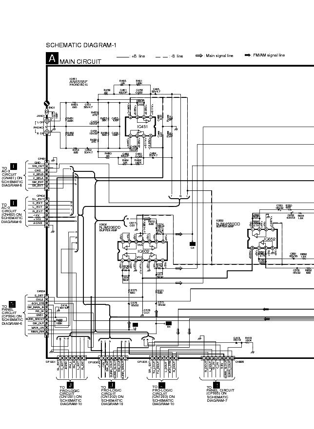 TECHNICS SL-PS840 Service Manual free download, schematics