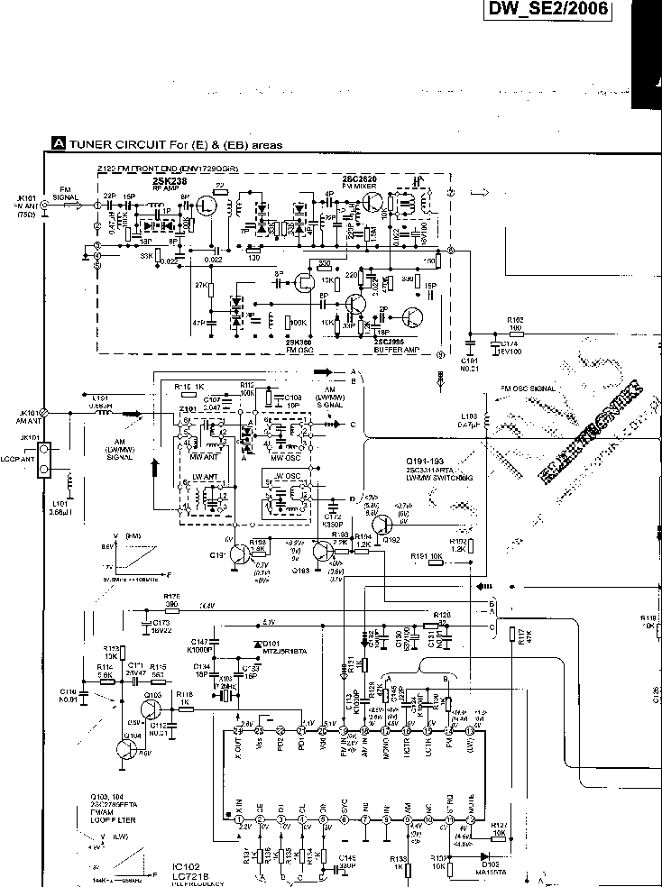 TECHNICS SU-X101,SU-X301 Service Manual free download
