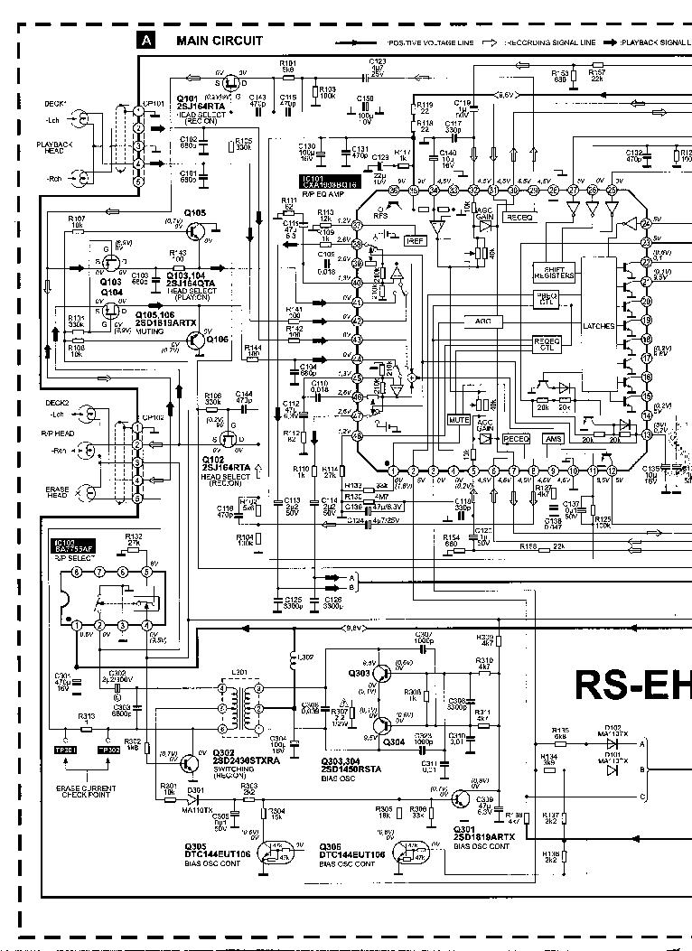 TECHNICS SC-EH550 Service Manual download, schematics