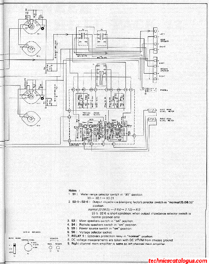 TECHNICS SE-9200 SCH Service Manual download, schematics