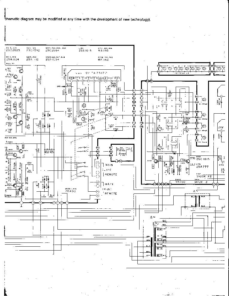 TECHNICS SE-A5 K SCHEMATIC Service Manual download