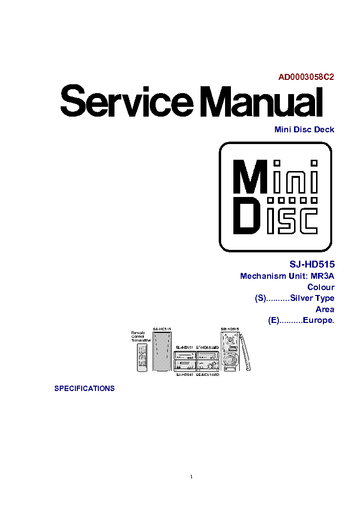 TECHNICS RS-608 SCH Service Manual download, schematics