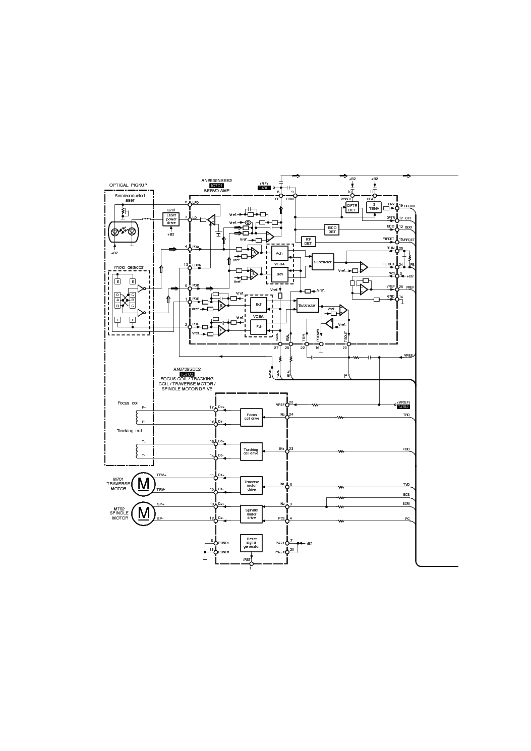 TECHNICS SU-Z2 SCH 1 Service Manual download, schematics
