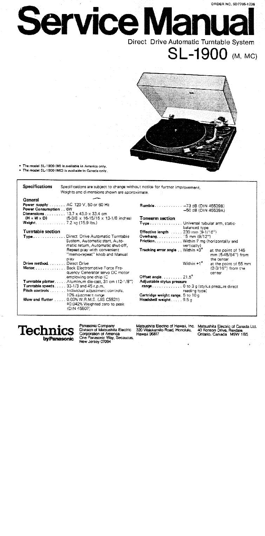 TECHNICS SA-AX540 SM Service Manual download, schematics