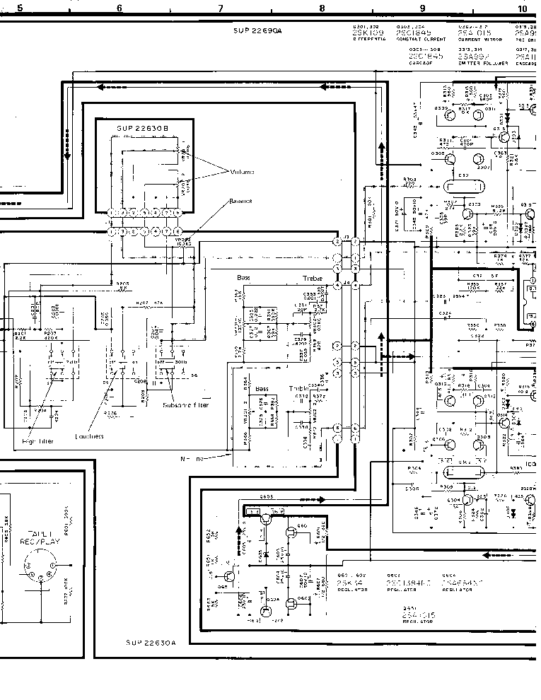 TECHNICS SU-V3 SCH Service Manual download, schematics