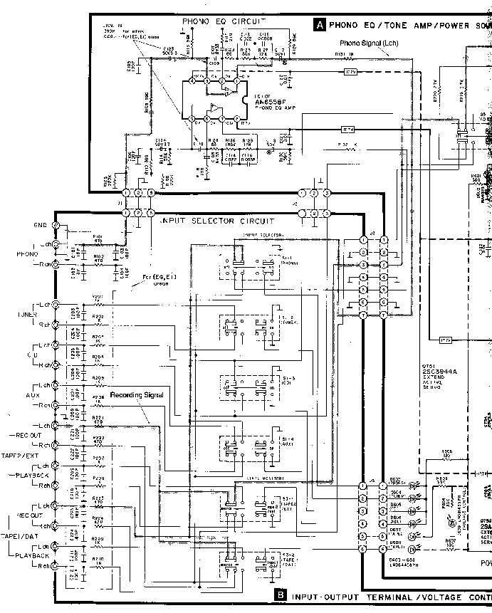 TECHNICS SU-V450 SCH Service Manual download, schematics