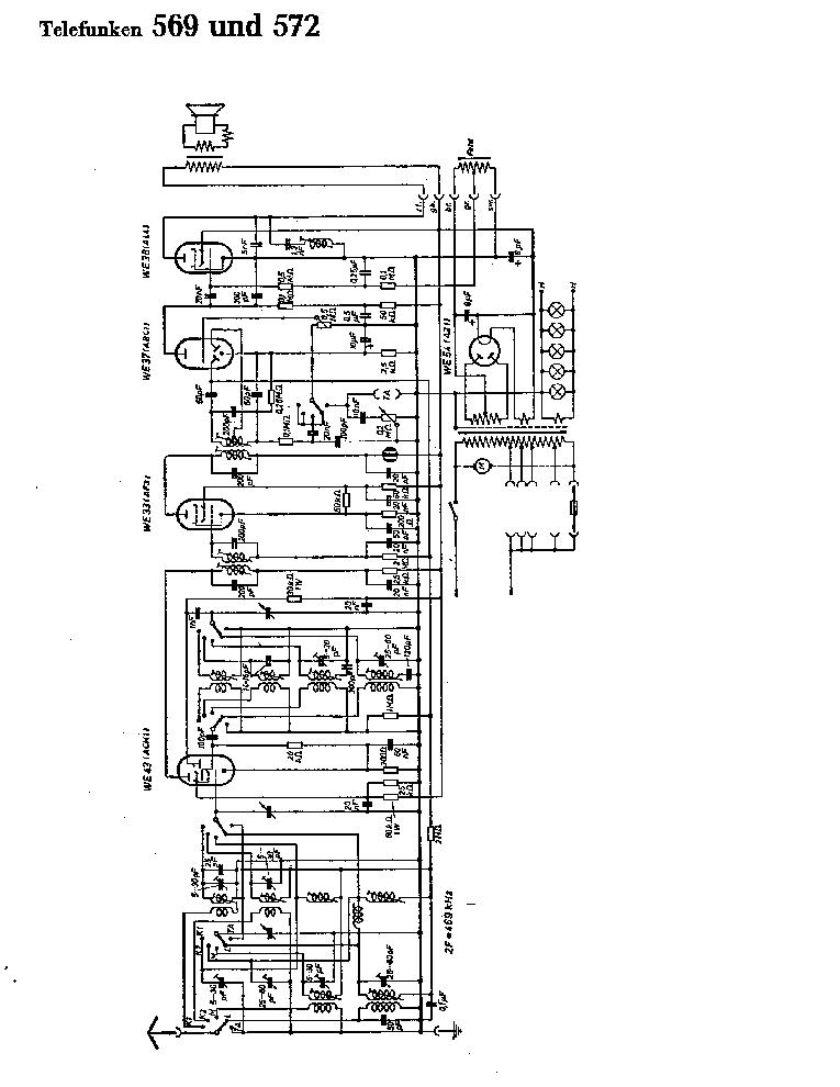 TELEFUNKEN CR30 SM Service Manual download, schematics
