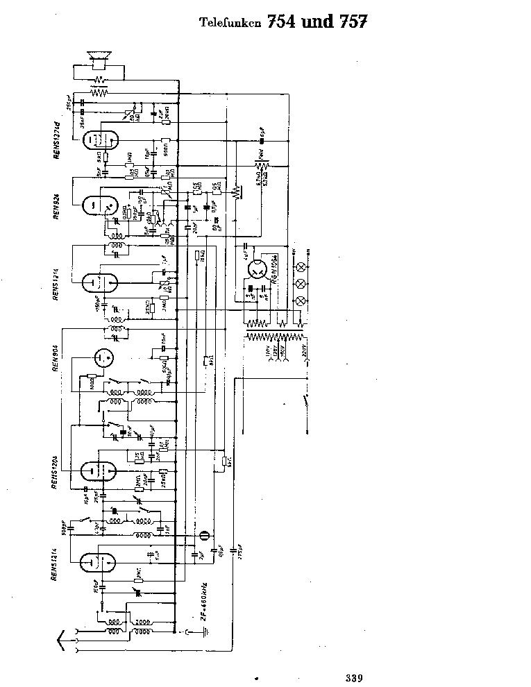 TELEFUNKEN HR 4000 SM Service Manual free download