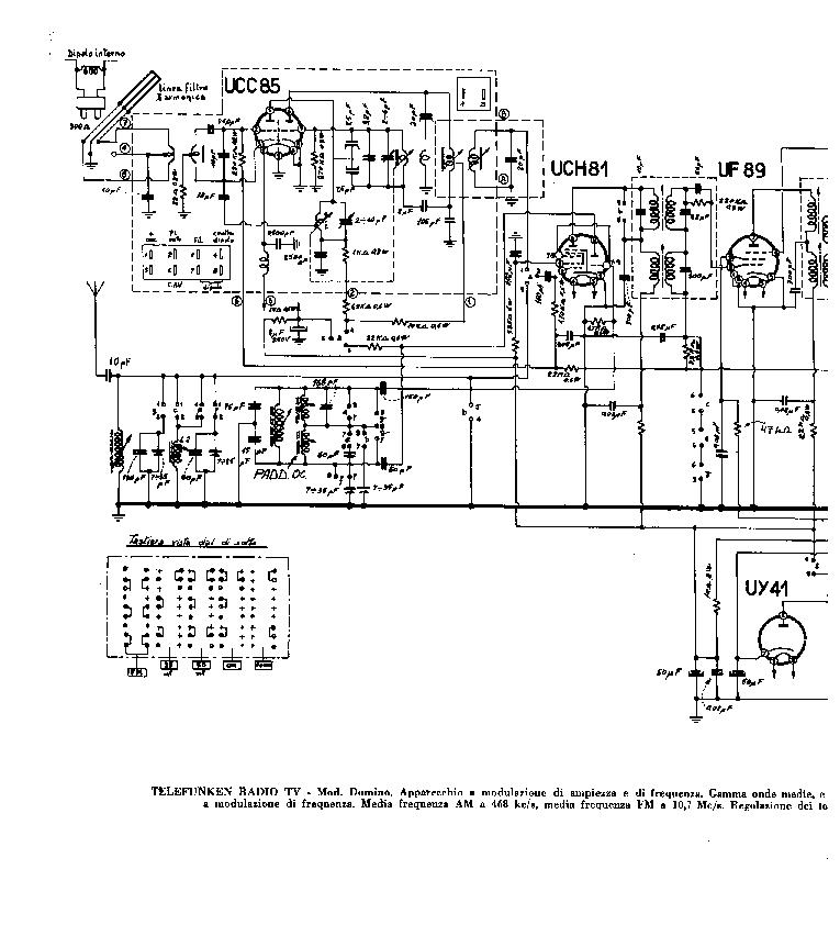 TELEFUNKEN DOMINO Service Manual download, schematics
