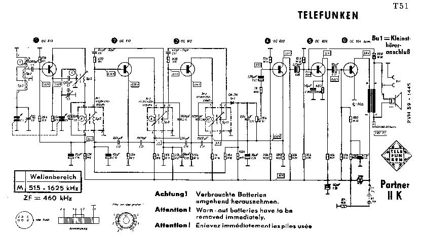 TELEFUNKEN ALPHA RADIO 1926 SM Service Manual free