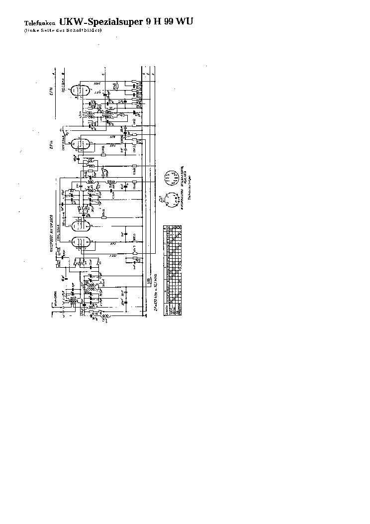 TELEFUNKEN KAVALIER SM Service Manual download, schematics