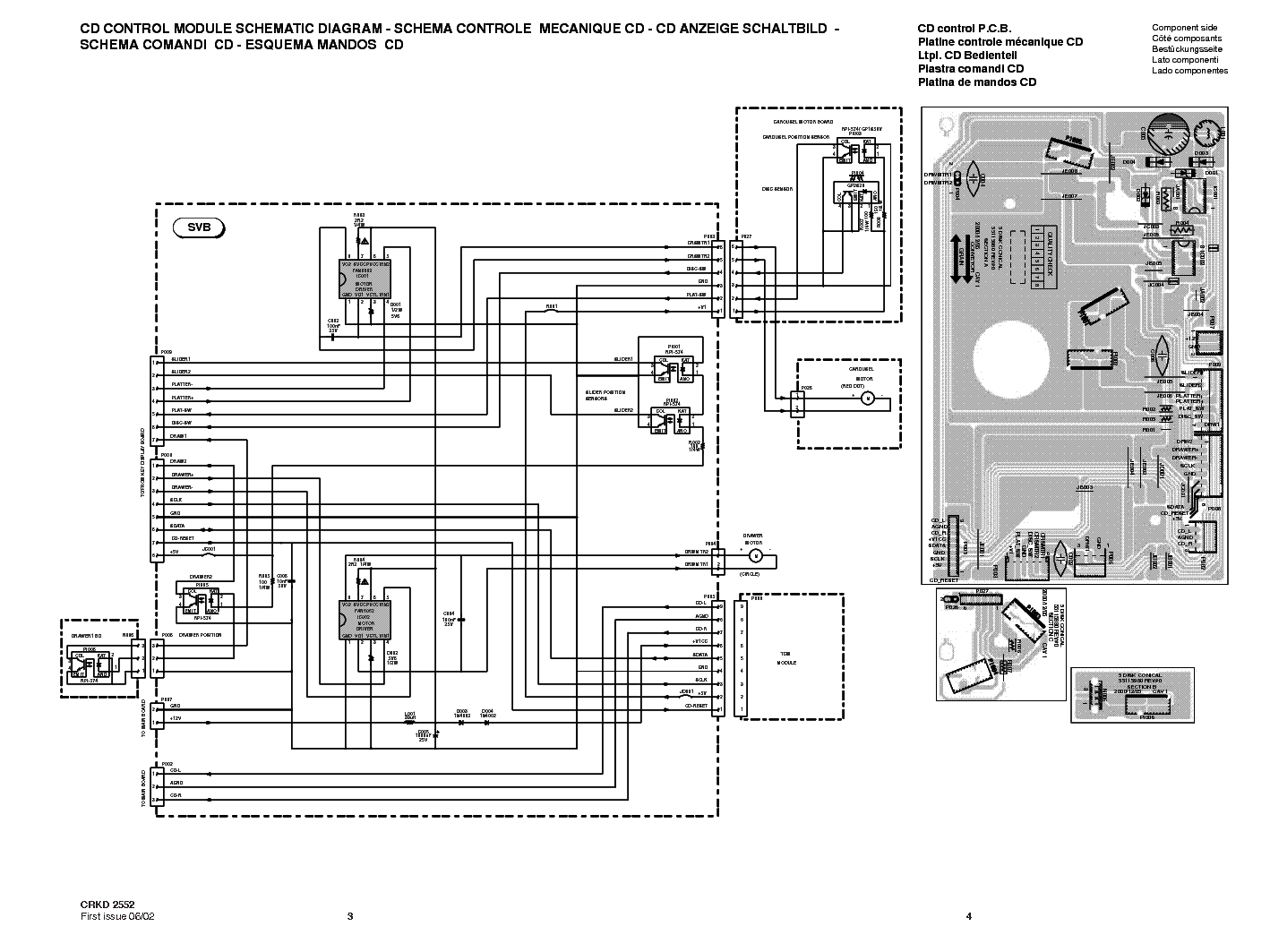 THOMSON A3180 A3185 Service Manual download, schematics