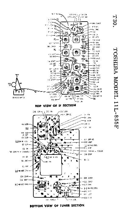 TOSHIBA 11L-855F SM Service Manual download, schematics
