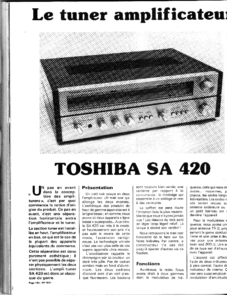 TOSHIBA SA-300L Service Manual free download, schematics