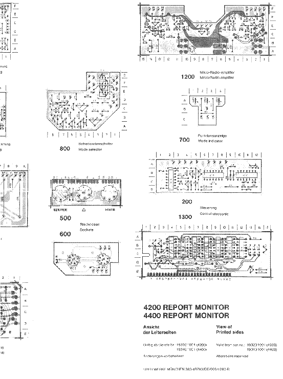 UHER 4200 4400 REPORT MONITOR SCH Service Manual download