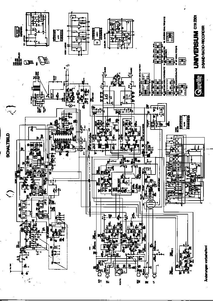 UNIVERSUM CT2337 SCH Service Manual download, schematics