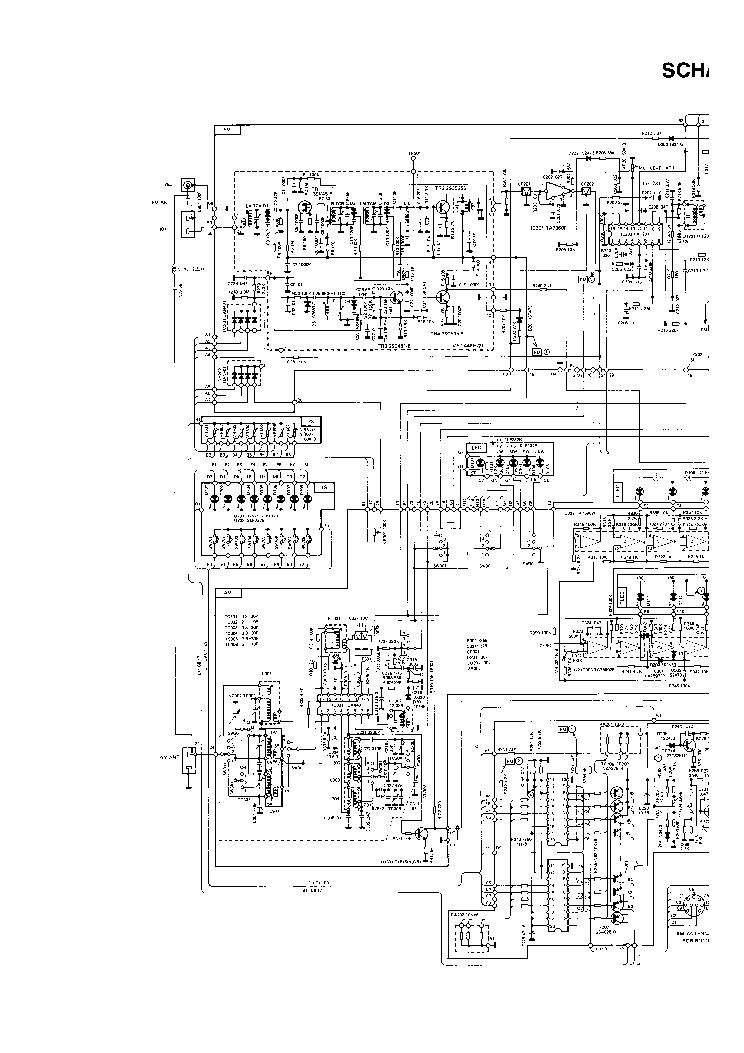 UNIVERSUM CT2687 SCH Service Manual download, schematics
