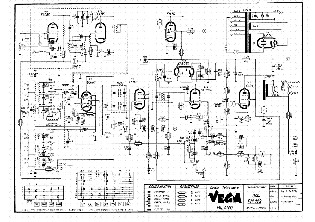VEGA 1505 AUDIO LINE DRIVER SM Service Manual download