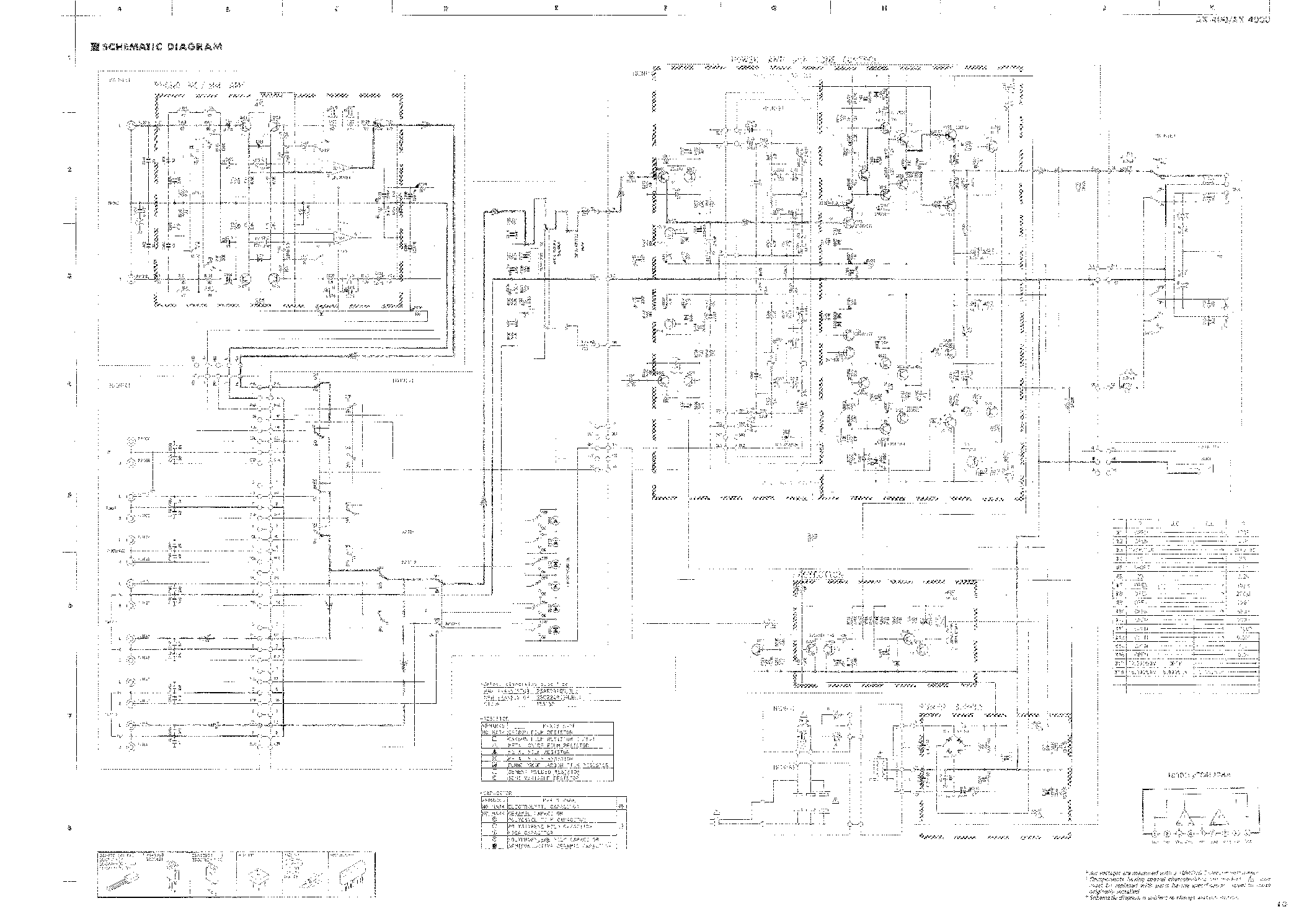 YAMAHA AX-400 SCH Service Manual download, schematics, eeprom, repair info for electronics experts