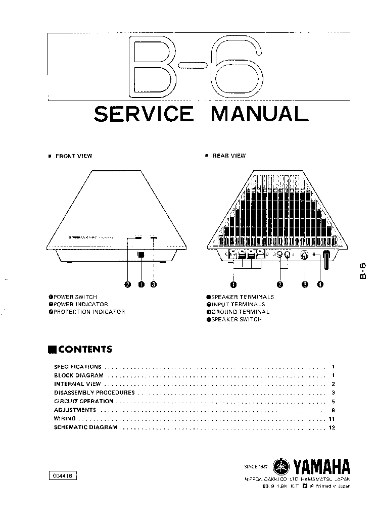 YAMAHA EMX512SC-EMX312SC Service Manual free download